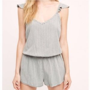 Anthropologie Saturday Sunday Romper light blue XS